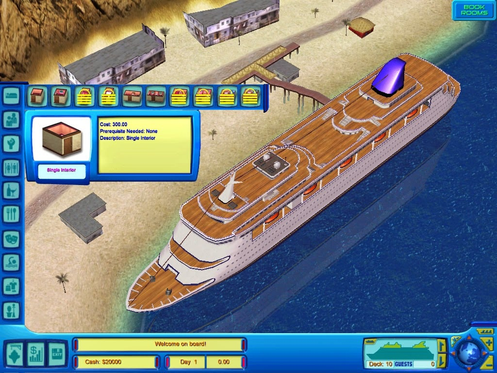 how to play cruise ship tycoon