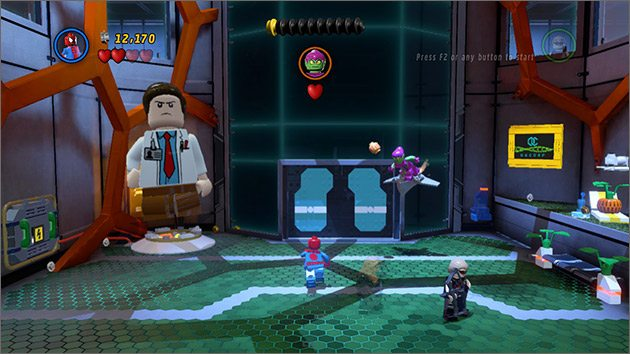 LEGO Marvel Super Heroes - All Big-Fig Characters + Free