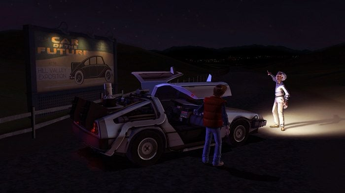 Back to the Future The Game oyunu