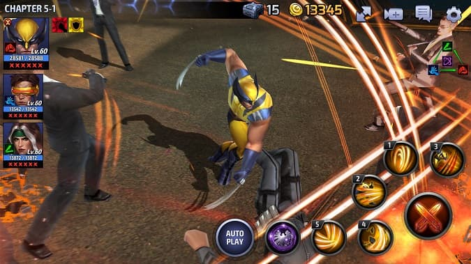 Marvel Future Fight Wolverine