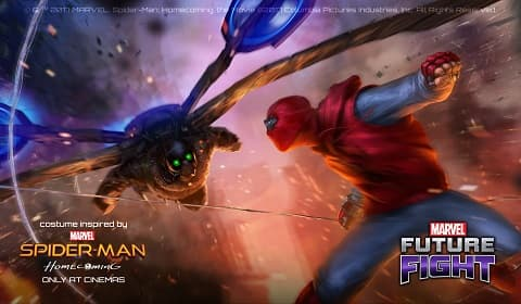 Spiderman MARVEL Future Fight'da
