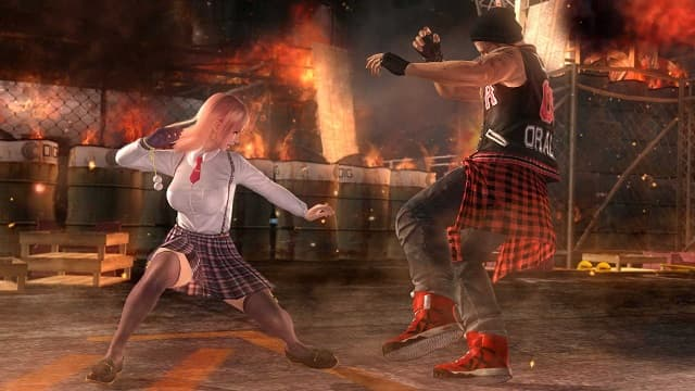 Dead or Alive 5 Last Round Core Fighters ps4