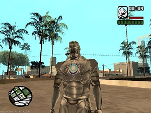 Gta San Andreas Iron Man Kostümü