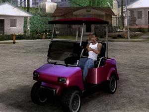 Gta San Andreas Golf arabası