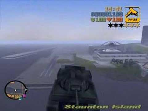 GTA 3 Tank hilesi