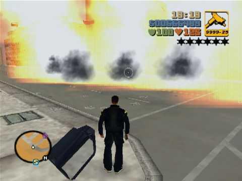GTA 3 tüm arabaları patlatma hilesi