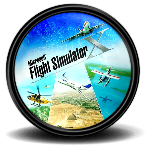 Microsoft Flight Simulator X ikon