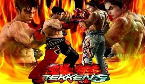 Tekken 5 kapak resmi