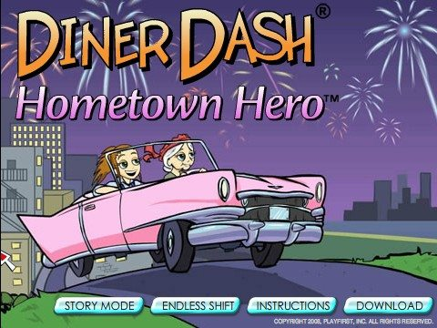 Diner Dash Hometown Hero ikon