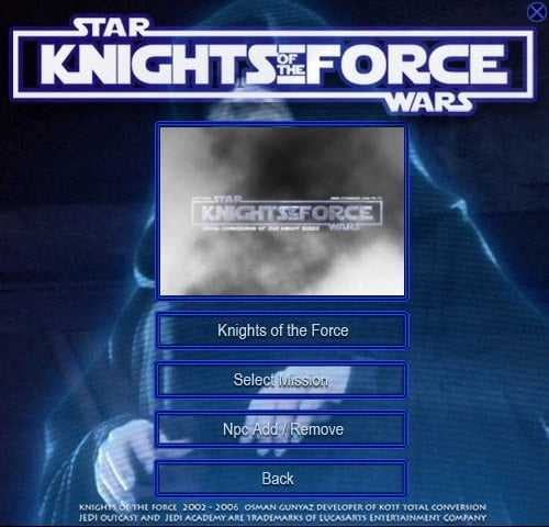 Star Wars Jedi Academy Knight of The Force