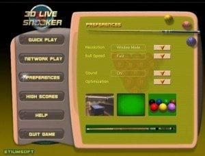 3D Live Snooker 2.22