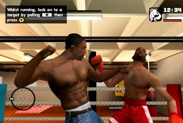 GTA San Andreas boks