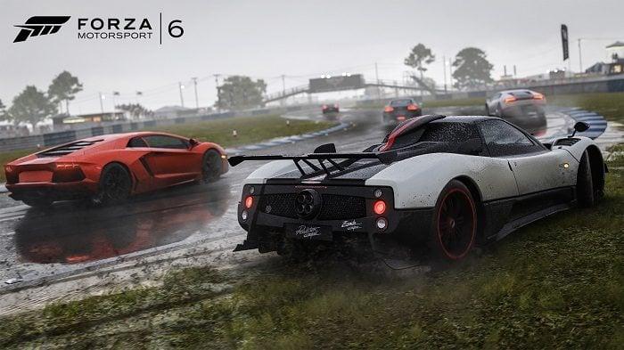 Forza Motorsport 6 Apex yarış arabaları