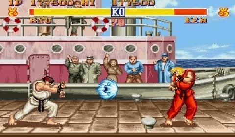 Street Fighter Ryu ve Ken