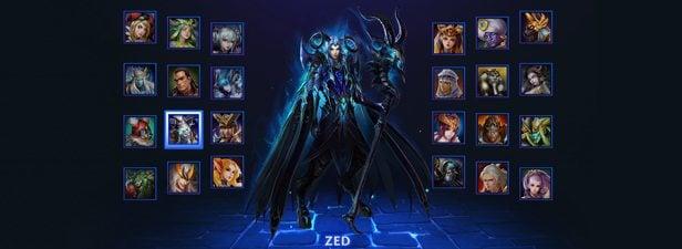 Heroes Evolved karakterler