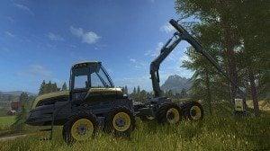Farming Simulator 2017 Ağaç Biçme Makinesi Yaması