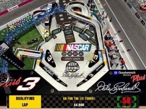 3-D Ultra NASCAR Pinball