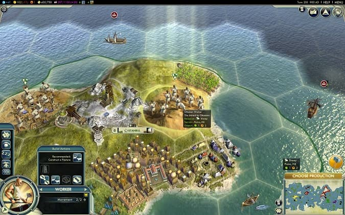Civilization 5 oyunu