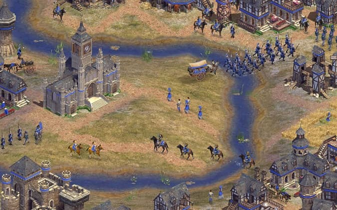 Rise of Nations Thrones and Patriots oyunu