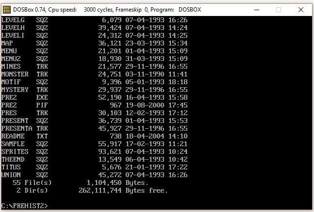 DOSBox emülatörü kurulum adım 5