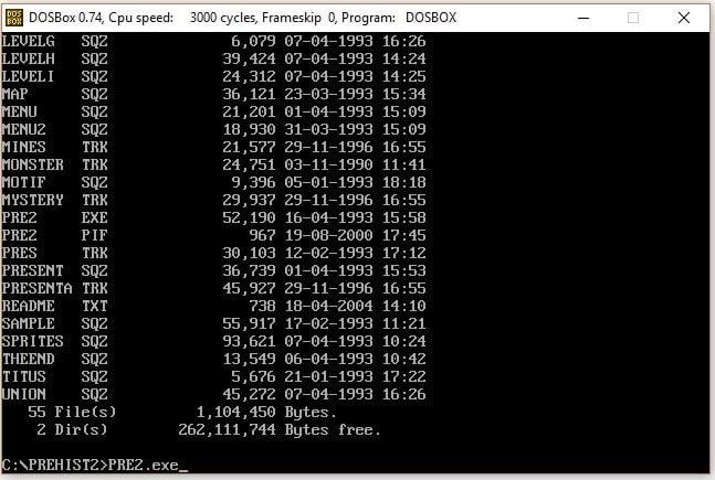 DOSBox emülatörü kurulum adım 6