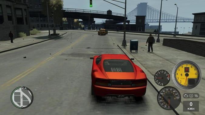 GTA 6 Yakıt Göstergesi